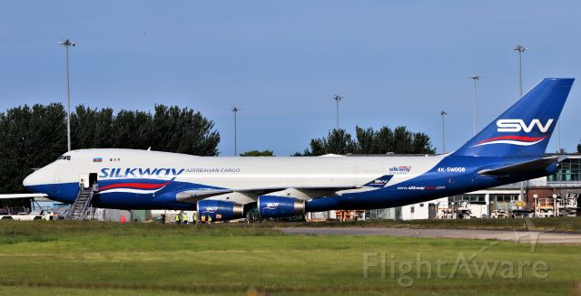 Boeing 747-400 (4KSW008) - silkway b747-4r7f 4k-sw008 at shannon 16/5/20.