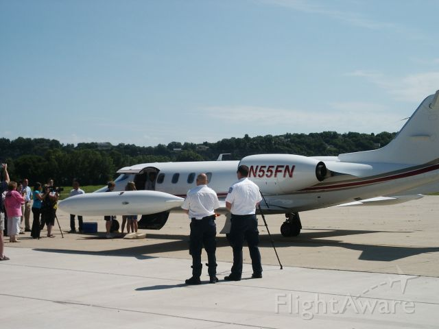 Learjet 35 (N55FN) - Welcome back Margaret.......we wish you well!!