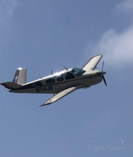 Beechcraft 35 Bonanza (N714JR)