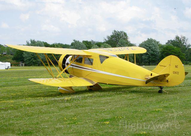 N12472 — - AirVenture 2016.  1932  WACO  UEC