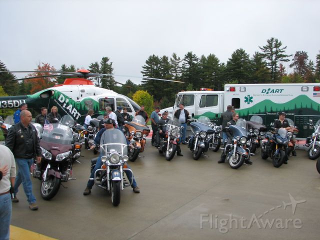 N135DH — - Annual Cancer Research Fund Rasier Motorcycle ride From DHMC  Lebanon, NH