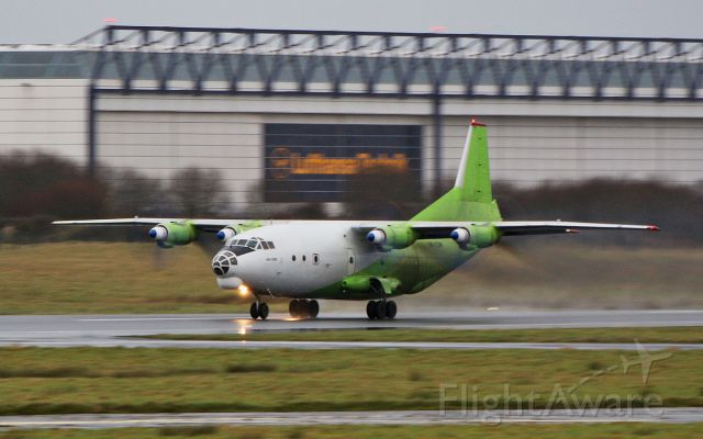 Antonov An-12 (UR-KDM) - cavok air an-12bk ur-kdm dep shannon 26/1/18.