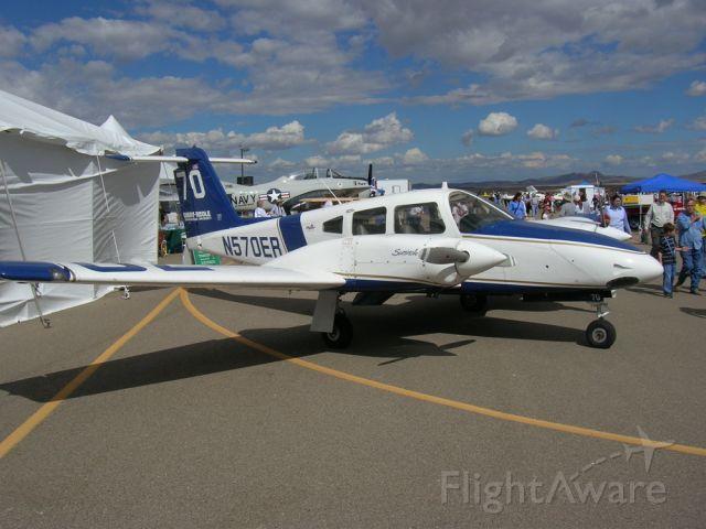 Piper PA-44 Seminole (N570ER) - On display at the Prescott Air Show