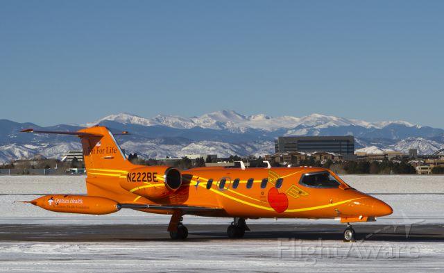 Learjet 35 (N222BE)
