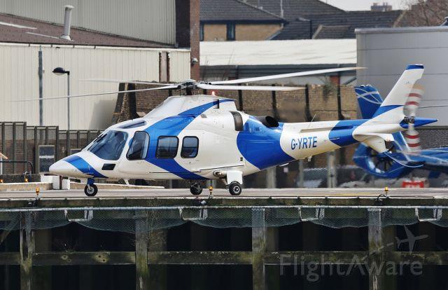 SABCA A-109 (G-YRTE) - AgustaWestland AW109