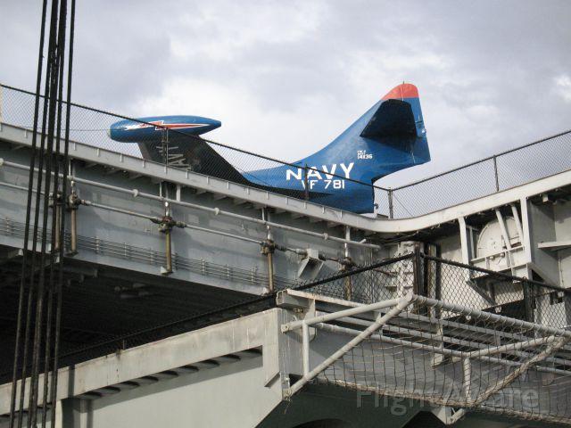 — — - USS Midway, San Diego, CA
