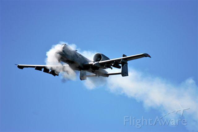 Fairchild-Republic Thunderbolt 2 — - Hardwood Range hosting A-10 gunnery practice from Whiteman AFB AF reserves.