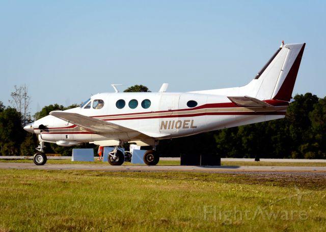 Beechcraft King Air 90 (N110EL) - 2014 Sun n Fun