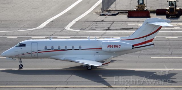 Canadair Challenger 350 (N168GC) - Taken from a UH-1H Huey