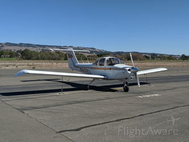 Piper Tomahawk (N9216T) - On the ramp.