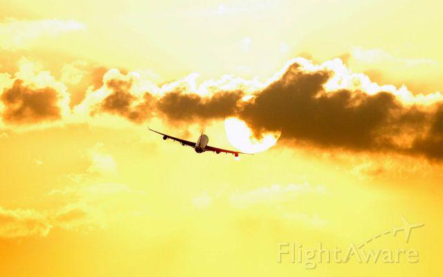 G-VSUN — - flying into the setting sun...