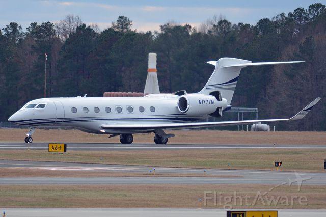 Gulfstream Aerospace Gulfstream G650 (N1777M) - EDG777