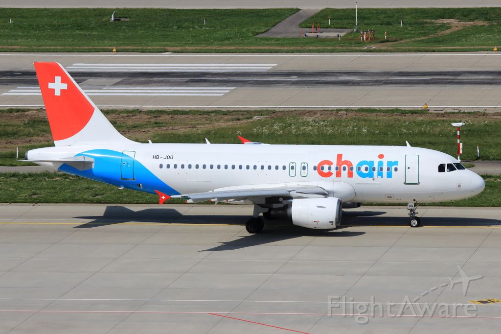 Airbus A319 (HB-JOG)