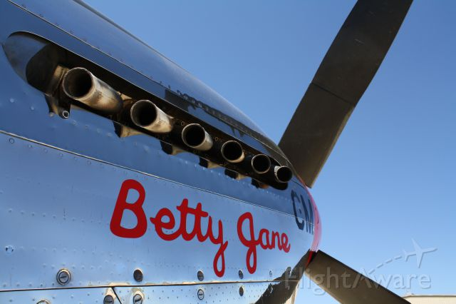 — — - Betty Jane at Kerrville, Texas on April 5, 2011 KERV