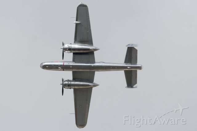 North American TB-25 Mitchell — - B-25 flypast at RIAT 2012.