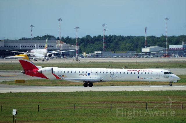 Canadair Regional Jet CRJ-100 (EC-MSL) - MALPENSA - BILBAO.  /  FLIGHT CHARTER.