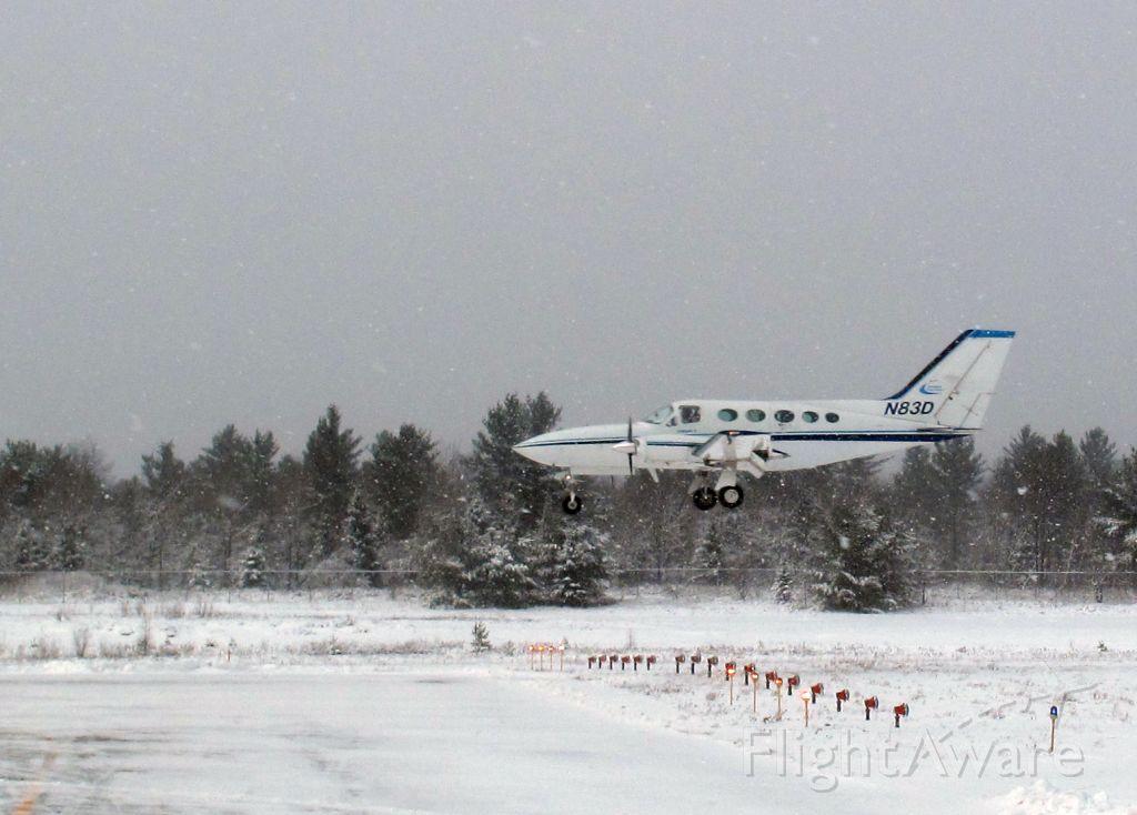 Cessna Chancellor (N83D) - ILS23 at KSLK after a missed approach at KLKP.