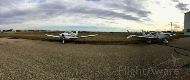 Piper Cherokee (C-FCJK) - CFCJK & CFWTA Piper Cherokee P28A.