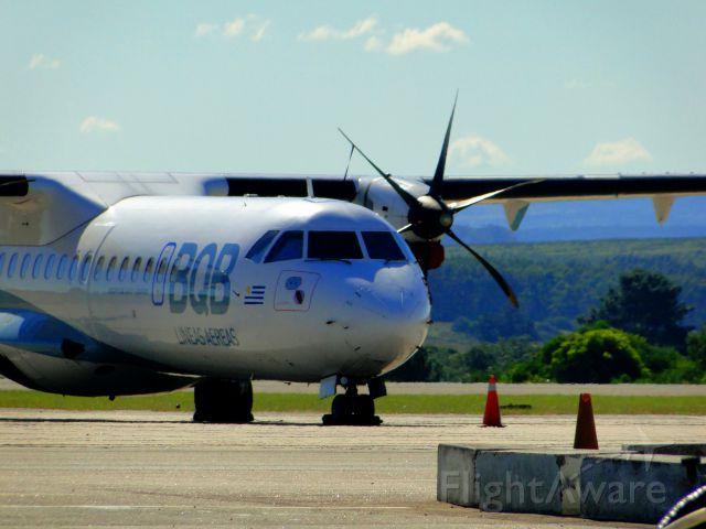 ATR ATR-72 (CX-JPL) - ATR-72 OF BQB LINEAS AEREAS OF URUGUAY IN PUNTA DEL ESTE.