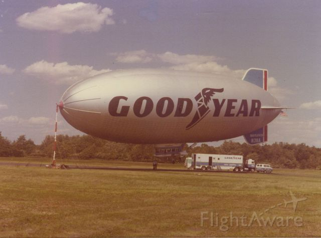 Unknown/Generic Airship (N38A) - scanned from photo