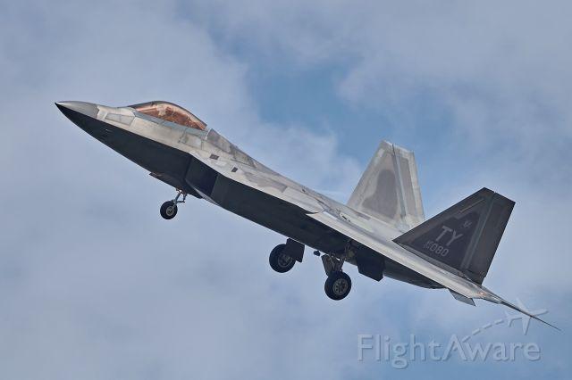 Lockheed F-22 Raptor (04080) - Taken during visit of Tyndall Raptors in Poland, August 2018