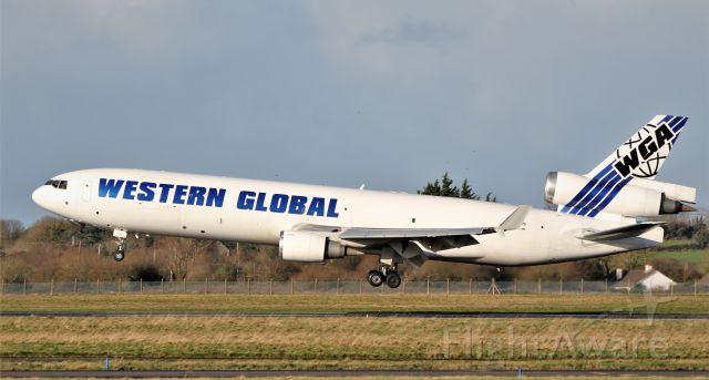 Boeing MD-11 (N546JN) - western global md-11f n546jn landing at shannon 15/1/20.