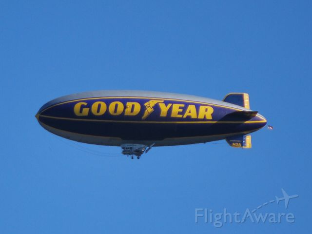 Unknown/Generic Airship (N3A) - GOODYEAR TIRE & RUBBER CO at the Charlotte Motor Speedway for the Coca-Cola 600 at KJQF - 5/27/12