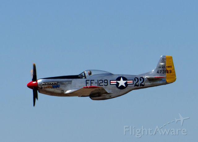 North American P-51 Mustang (N151SE) - Watsonville Airshow 2012