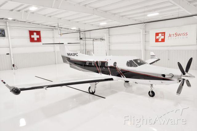 Pilatus PC-12 (N643PC)