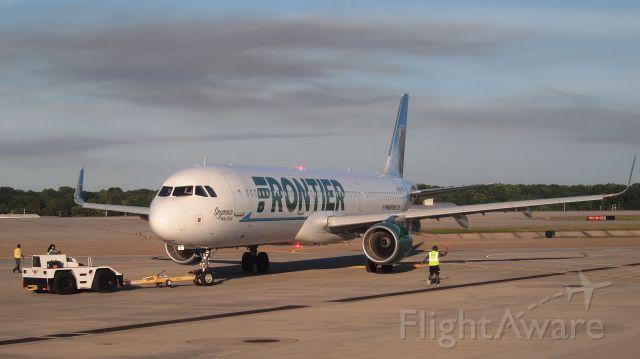 """Airbus A321 (N716FR) - """"Seymour the Walrus"""""""