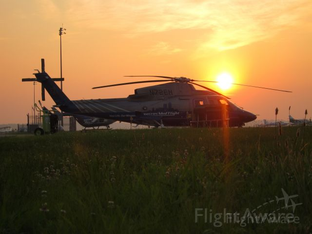 Sikorsky S-76 (N72EH) - Boston MedFlight Helicopter