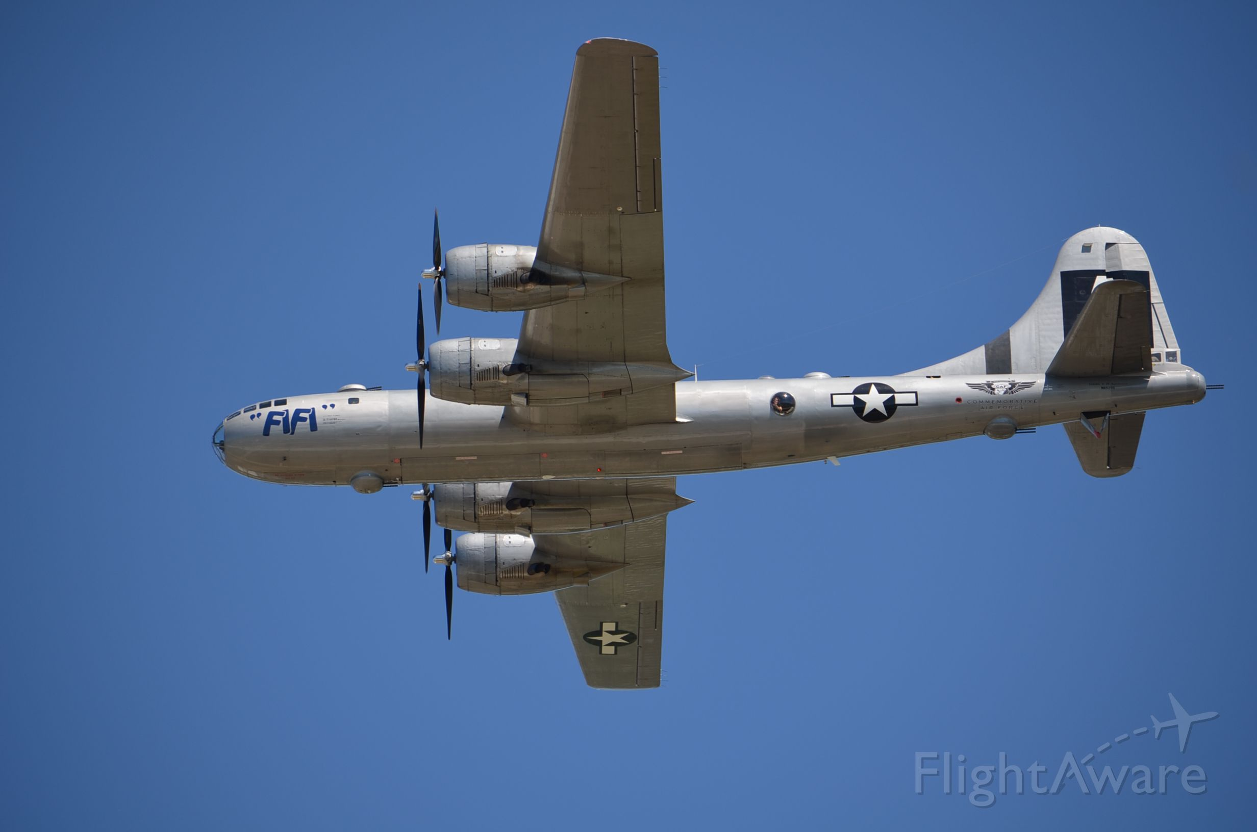 Boeing B-29 Superfortress (NX529B) - EAA 2011 B-29 Fifi. Almost framed her perfectly but was lazy and did not bring the tripod. Tsk, tsk.