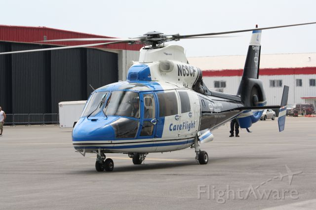 N63CF — - A CareFlight helicopter from Miami Valley Hospital in Dayton, OH