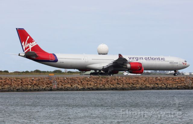 Airbus A340-600 (G-VYOU) - Taxiing To Rwy 34L