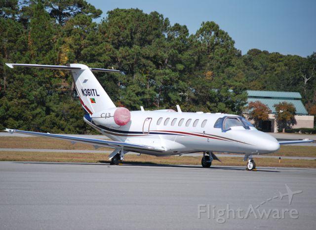 Cessna Citation CJ3 (N361TL) - CJ3-061 LLC - 11/23/12