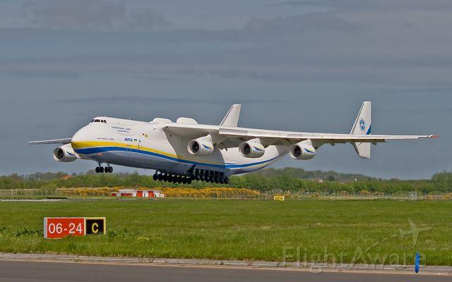 Antonov An-225 Mriya (UR-82060) - adb-2918 an-225 mriya ur-82060 arriving in shannon from bangor.21/5/13.