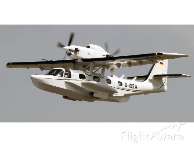D-ISEA — - Take off RW28. Dornier Seastar.