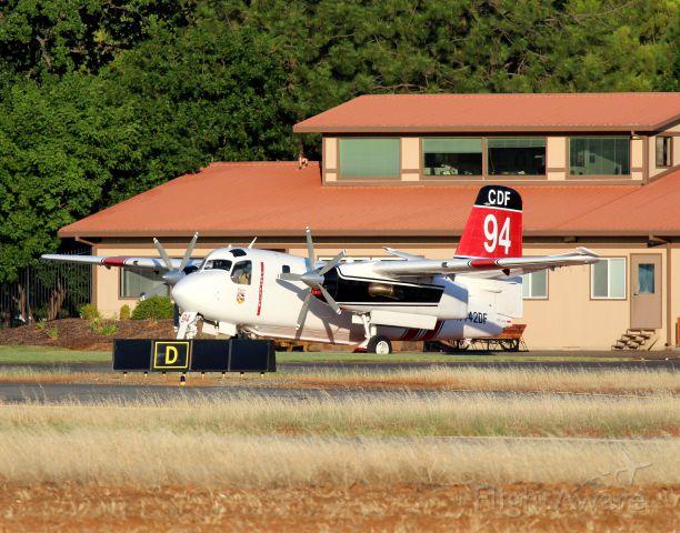 Piper Aerostar (N442DF) - KRDD - S-2T Tanker 94 RFA...click full