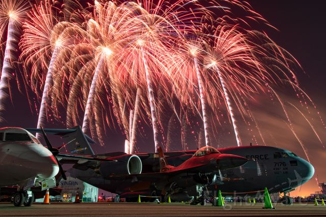 Lockheed F-16 Fighting Falcon — - Fireworks and American military might at the 2021 Sun N Fun Aerospace Expo!