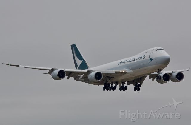 """BOEING 747-8 (B-LJB) - Arriving on 18R (Please view in """"full"""" for highest image quality)"""
