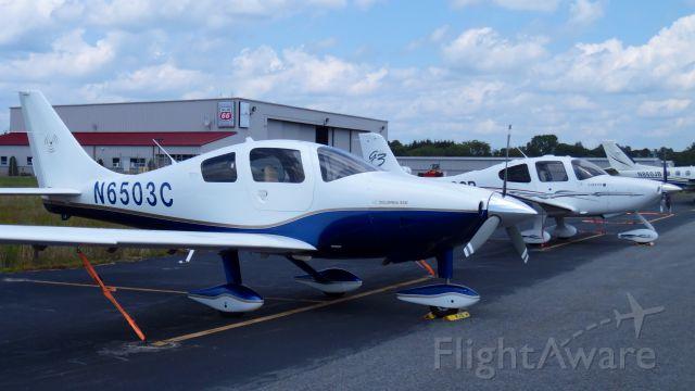 Cessna 350 (N6503C) - KGON tie down