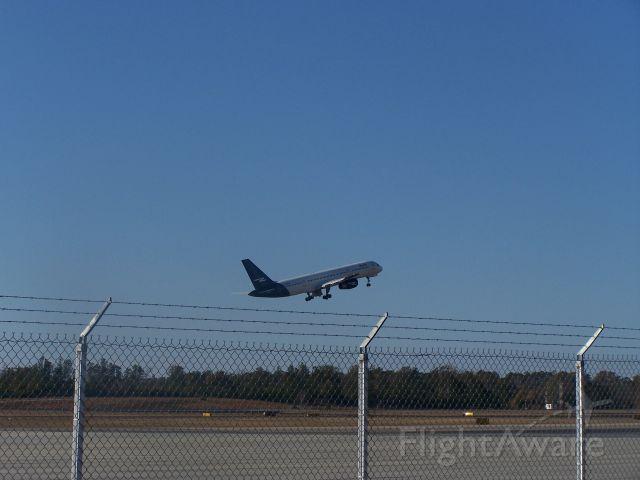 Boeing 757-200 (N526NA) - 757 Leavin Jones County for St petersburg, Fl