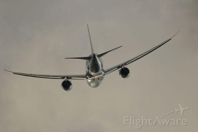 Boeing 787-8 (JA810A) - 05 October 2015: HKD-HND.