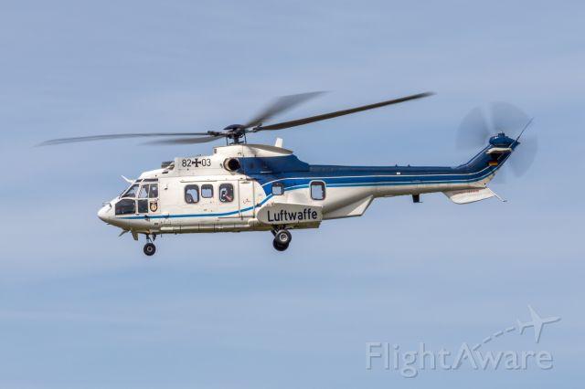 TUSAS Cougar — - 82+03 - Eurocopter AS 532 Cougar - German Air Force