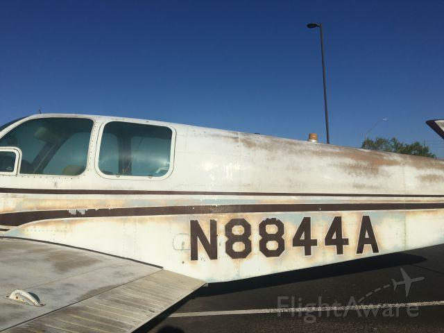 Beechcraft 35 Bonanza (N8844A) - It is in very rough shape.