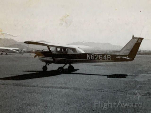 Cessna Commuter (N6264R) - My 1st solo, Falcon Field-8/1966