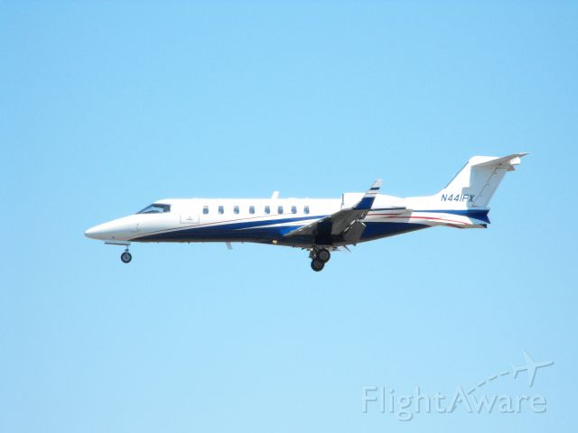 Learjet 45 (N441FX) - This Twin Engine Business Jet is shown here on final in the Spring of 2013.