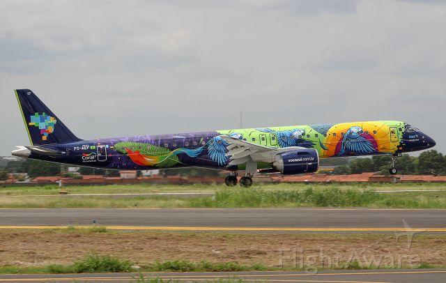 EMBRAER ERJ-190-400 (PS-AEF) - PS-AEF Embraer E195-E2 (ERJ 190-400 STD)