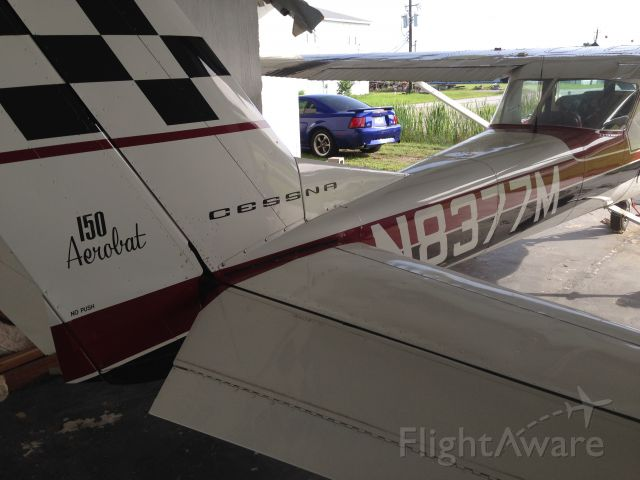 N8377M — - Preparing for next days departure to Little Rock (KORK).