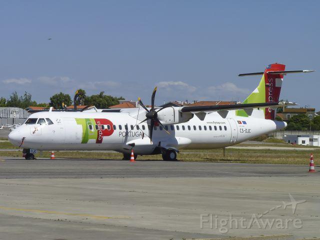 Aerospatiale ATR-72-600 (CS-DJC) - CS-DJC waiting for better days...